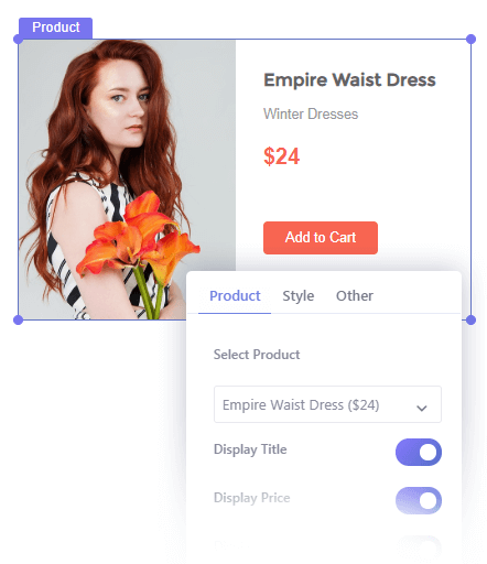 Insert Single Woocommerce Product in Your Popup