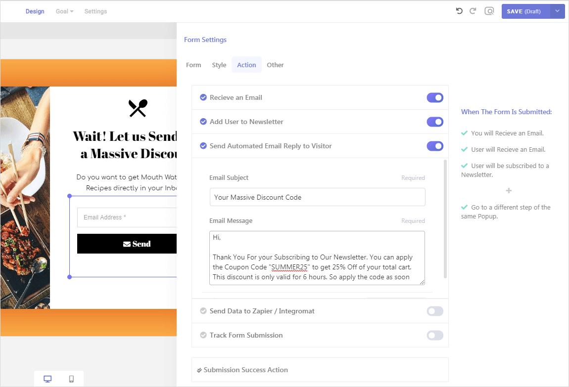 woocommerce cart abandonment email